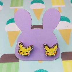 Boucles d'oreilles pika pika