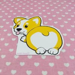 Sticker corgi