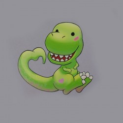 Stickers T-rex