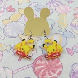 Boucles d'oreilles pikaketchup