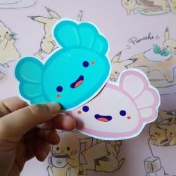 Stickers axolotl