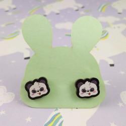 Boucles d'oreilles pandachou