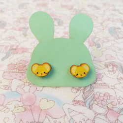 Boucles d'oreilles kero-chan